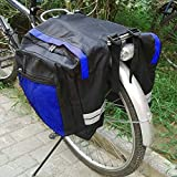 Meanhoo New Cycling Cargo Bag Bike Pannier Rear Seat Pack Lots Of Side Bags 600D PVC