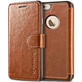 iPhone 6 Case, Verus [Kickstand Feature] iPhone 6 4.7″ Wallet Case [Dandy Diary][Brown]