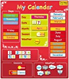 Doowell Magnetic My Calendar (Red)