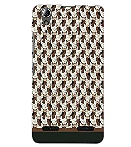 PrintDhaba Owl Pattern D-1711 Back Case Cover for LENOVO A6000 (Multi-Coloured)