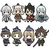 D4 刀剣乱舞-ONLINE- ラバーストラップコレクション Vol.4 BOX商品 1BOX = 8個入り、全8種類