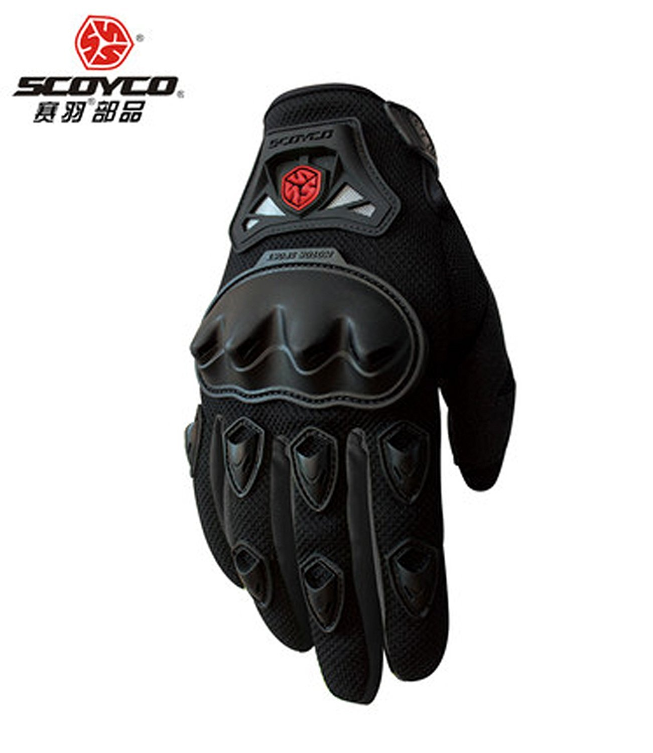 Car driving gloves india - Fulgent Smc29blackl Scoyco Mc29 Motorcycle Riding Gloves