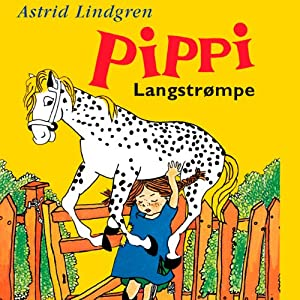 Thomas Winding læser Pippi Langstrømpe [Thomas Winding Reads Pippi Longstocking] | [Astrid Lindgren, Ellen Kirk (translator)]