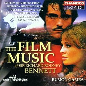 Film Music of Richard Rodney Bennett by Chandos