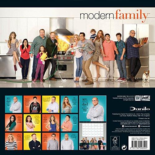 The Official Modern Family 2016 Square Calendar