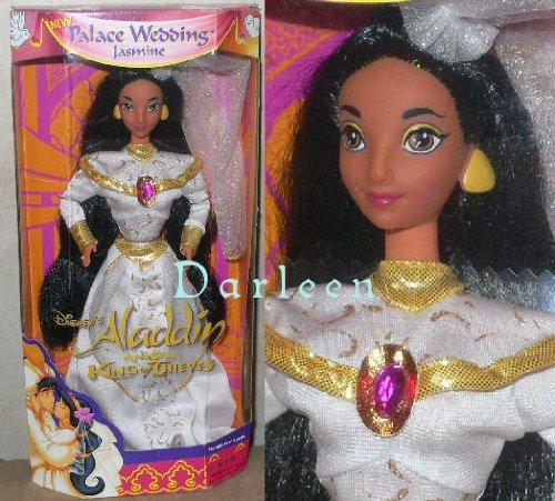 Fashion Dolls: Disney\'s PALACE WEDDING JASMINE doll from Aladdin ...
