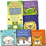 Fiona Watt Usborne That's Not My Collection 7 Books Set (Donkey, Elephant, Kitten, Lion, Tiger, Monster, Frog)