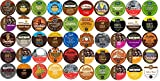 50-count K-cup for Keurig Brewers All REGULAR Coffee Variety Pack Featuring Tim Hortons, Green Mountain, Coffee People, Broolyn Bean, Newmans Organic, Donut House, Caza Trail, Emerils, Barnies Coffee Kitchen, Hurricane, Guy Fieri, Brown Gold, Martinson, Marley Coffee, Brooklyn Bean, Java Factory, Authentic Donut Shop & Tullys