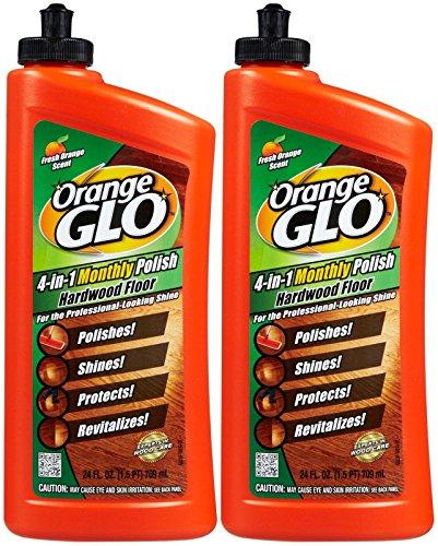 Orange Glo 4-in-1 Hardwood Floor Polish - Orange - 24 oz - 2 pk (Orange Glo Wood Floor Cleaner compare prices)