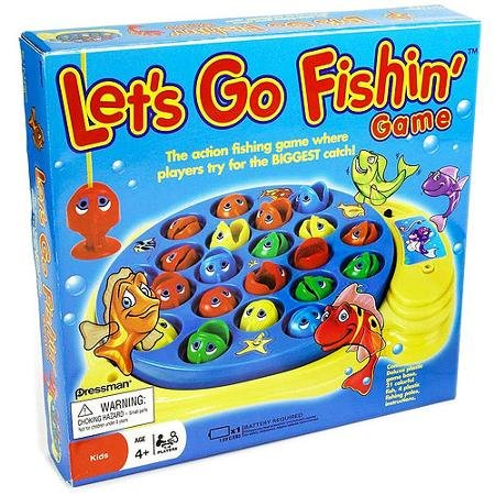 Pressman let 39 s go fishin 39 game make this part of a family for Go go fishing