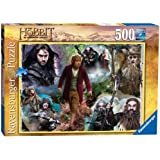 Ravensburger The Hobbit Bilbo and His Companions Puzzle (500 Pieces)