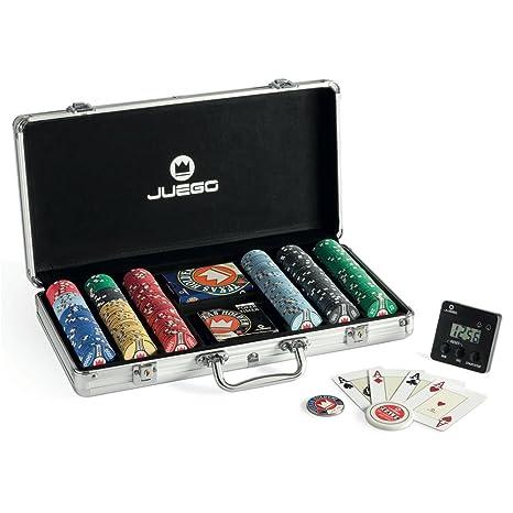 Juego - JU00384 - Pro Poker Aluminium 300 - Multicolore