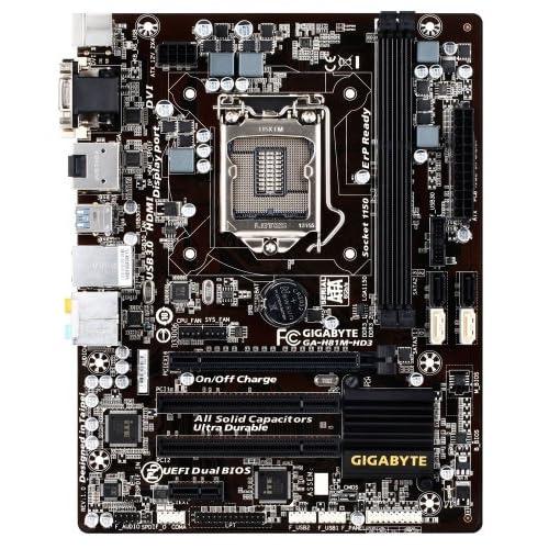 GIGABYTE マザーボード intel H81 LGA1150 microATX GA-81M-HD3