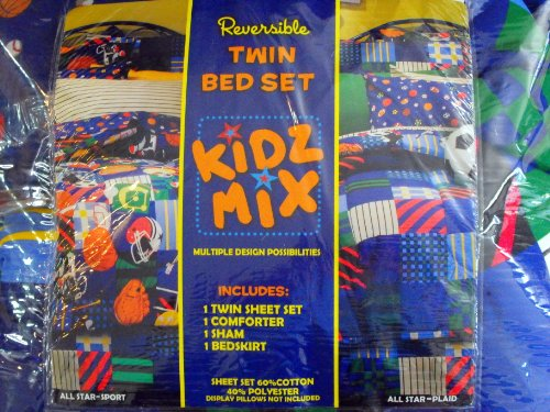 Find Cheap Price Kidz Mix Play Ball Bed In A Bag Twin 91
