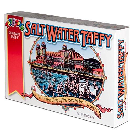 Taffy Town Gourmet Salt Water Taffy, Assorted Gift Box, 14 Ounces (Salt Water Taffy Gift Box compare prices)