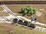 HO NG Train - Starter Loco, 3 tippers...