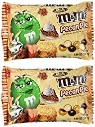 M&M\'s Pecan Pie Limited Edition Fall Milk Chocolate 9.90 Ounce Bag, 2 Pack