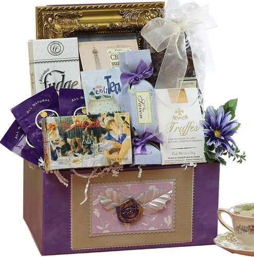 SCHEDULE YOUR DELIVERY DAY! Because You're Special Gourmet Food Gift Basket - The Perfect Gift For Mom!