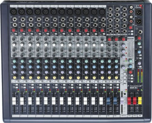 Soundcraft MFXi 12/2 12-Channel Mixer  Digital