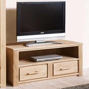 Kleines TV-Lowboard aus Wildeiche Maryland Pharao24