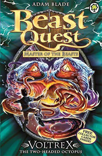 Beast Quest: 58: Voltrex the Two-headed Octopus by Adam Blade (1-Mar-2012) Paperback (Beast Quest Voltrex compare prices)