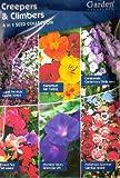 1390 Flower Seeds/6 in 1: Lobelia Pendula/Sweet Pea Tall/Nasturtium/Hollyhock/Morning Glory/Campanula/MULTI-BUY DISCOUNT/Creepers & Climbers