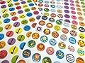 280 Childrens Reward Stickers for Kids Motivation , Merit / Praise School Teacher Labels