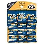 KP Salted Cashews 12 x 30g - Pub Card