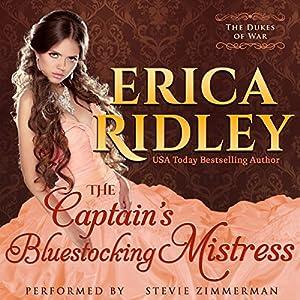 The Captain's Bluestocking Mistress Audiobook