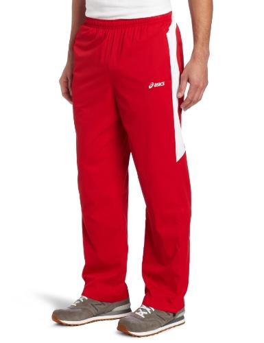 ASICS Asics Men's Caldera Warm-Up Pant (Red/White, XX-Large)