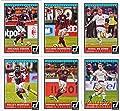 2015 Donruss Soccer AC Milan Complete Team Set with Riccardo Montolivo, Michael Essien, Nigel De Jong, Keisuke Honda, Stephan El Shaarawy and Sulley Muntari!