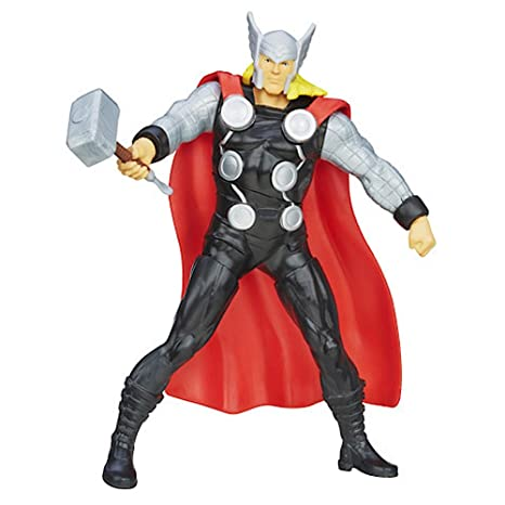 Marvel Avengers - Figure Thor 15cm 'Assemble Mighty Battlers'