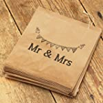 Luck And Luck Kraft Brown 'Mr And Mrs...
