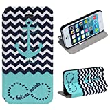 ZPS (TM) Fresh New Look Pattern Hard Leather Case Cover For iphone 5 5S 5G (B)