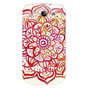 Jugaaduu Flower Floral Pattern Back Cover Case For Samsung Galaxy S3 Neo GT- I9300I