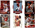 Bryce Harper Washington Nationals (6) Assorted MLB Major League Baseball Trading Cards