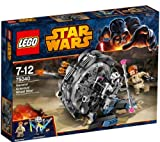 LEGO Star Wars - General Grievous' Wheel Bike - 75040 -Stop General Grievous' Wheel BikeTM before he gets away!Beneath the planet surface of UtapauTM, Obi-Wan KenobiTM is in hot pursuit of General GrievousTM on his all-terrain Wheel BikeTM with cool deta