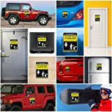 Decals Sticker Funny Stay Away From My Microphone Vehicle Garage door 5 X 3.7 Inches Vinyl color print 0500 X4544