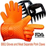 Barbecue Gloves + Pulled Meat Separat...