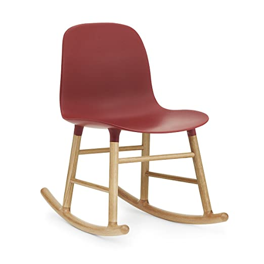 Normann Form Rocking Chair Oak - Red