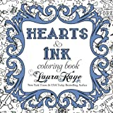 img - for Hearts & Ink Coloring Book book / textbook / text book