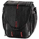 Hama Canberra 100 Photo Bag - Black/Red