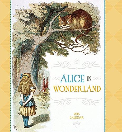 Alice in Wonderland 2016 Wall Calendar