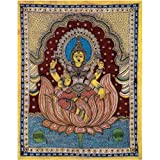 Redbag Goddess Luxmi - Kalamkari Painting