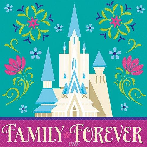 Disney Frozen Napkin (S) 16ct [Contains 6 Manufacturer Retail Unit(s) Per Amazon Combined Package Sales Unit] - SKU# 501416 - 1