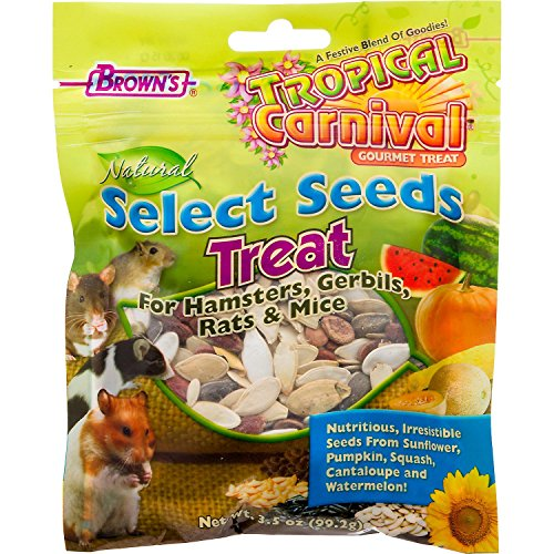 Brown's Tropical Carnival Natural Select Seeds Treat 61Was1zrNIL hamster cages Hamster Cages | Toys | Balls | Treats | Bedding 61Was1zrNIL