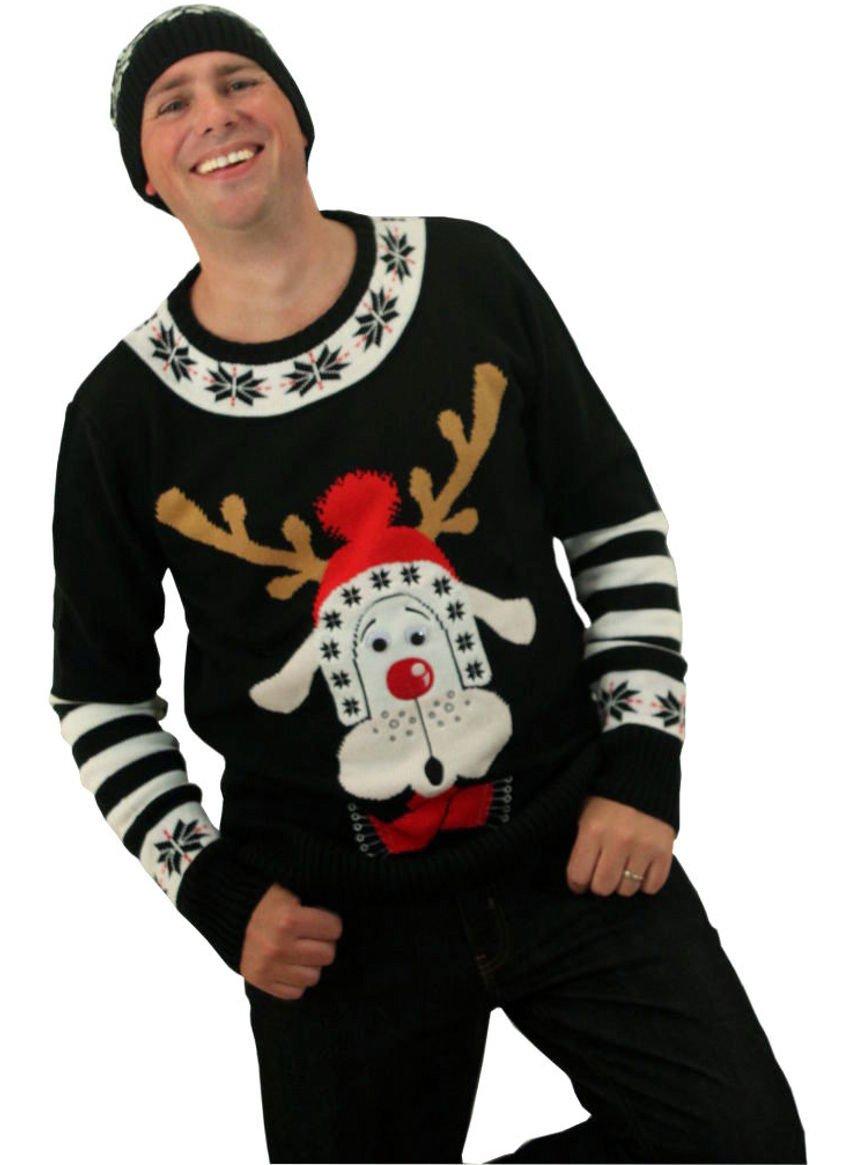 Wally Reindeer Christmas Jumper