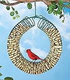 Hanging Peanut Wreath Bird Feeder