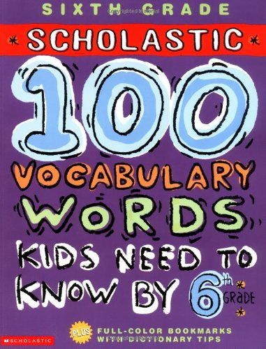 100 Vocabulary Words Kids Need to Know by 6th Grade (100 Words Math