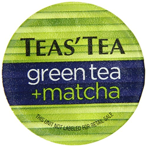 Teas' Tea Green Tea Plus Matcha, Single Serve Cups 12 Count (Single Serve Green Tea compare prices)
